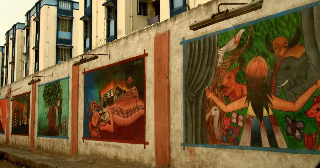 Graffiti - Driving through Rajkot