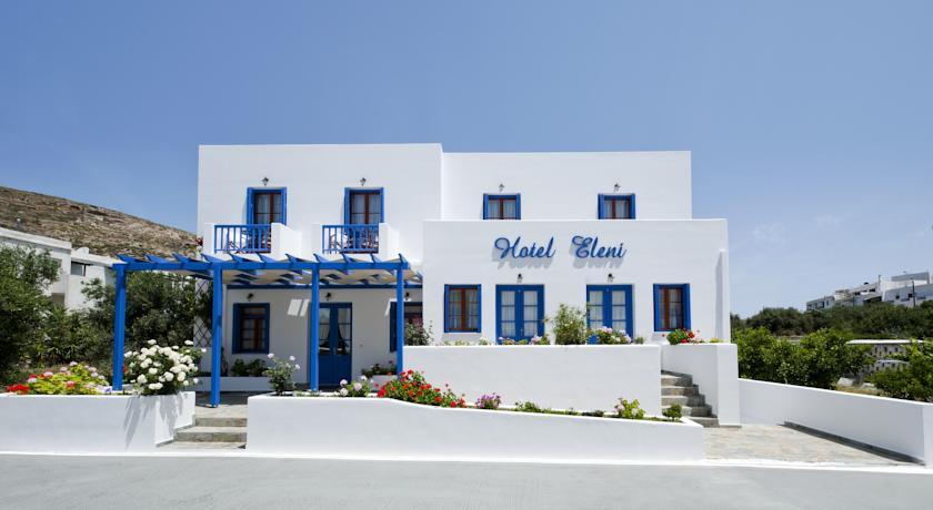 Milos: Hotel Eleni, Adamas