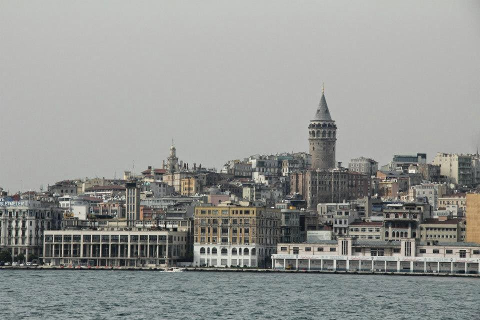 Istanbul: City - as seen from the Bosphorous