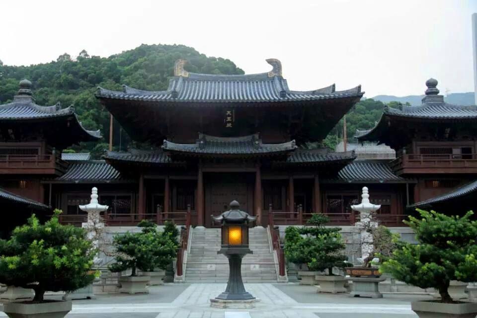 Hong Kong: Chi Lin Nunnery