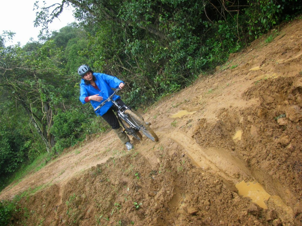 Coorg: Cycling in the slush