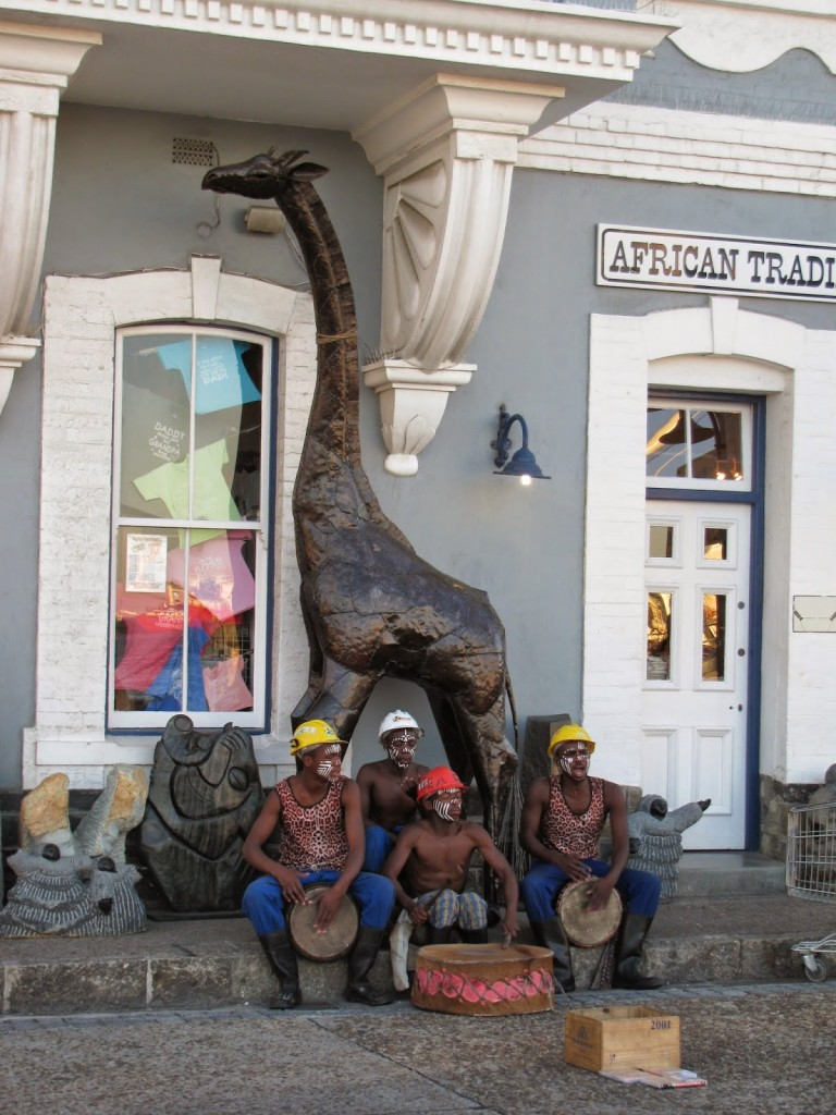 Cape Town: Buskers at the Waterfront