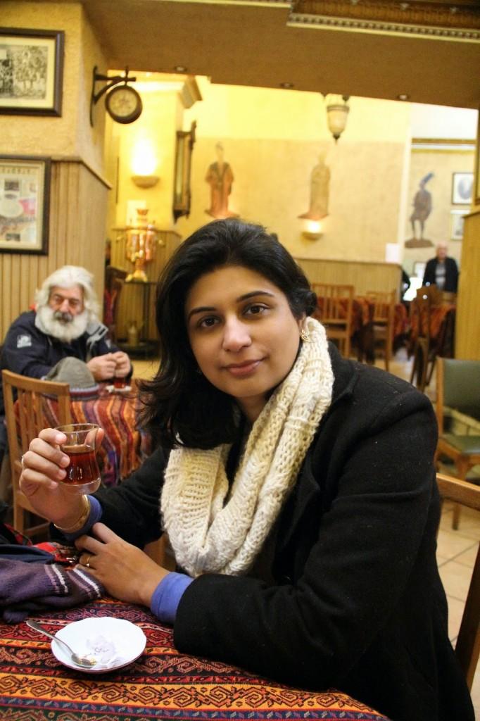 Grand Bazaar: Much needed tea break!