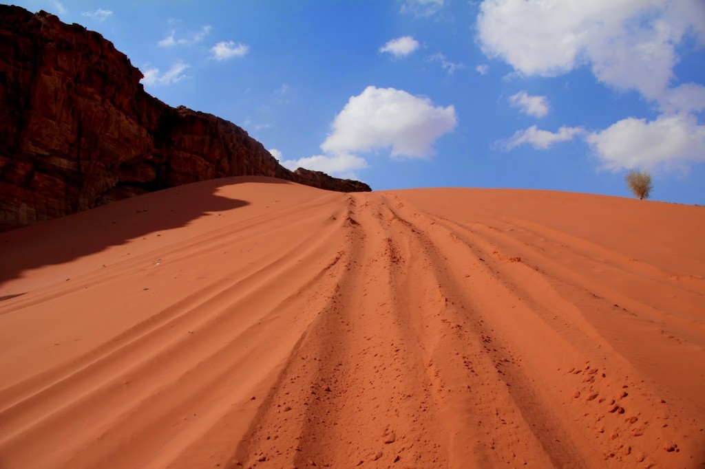 Wadi Rum: Slopes for sand-boarding