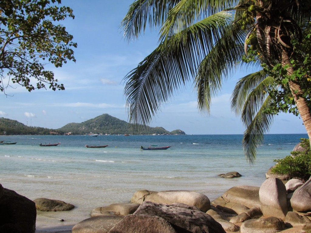 Sairee Beach in Koh Tao, Thailand