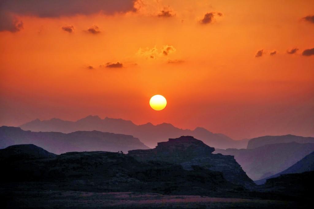 Wadi Rum: Sunset
