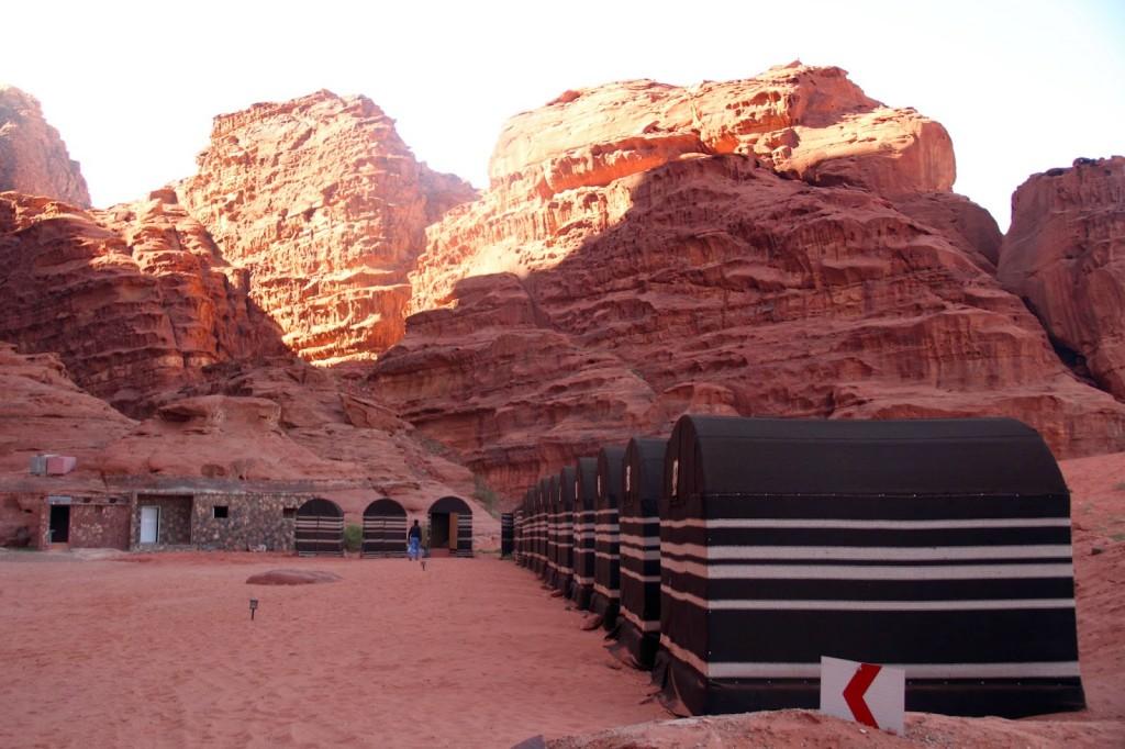 Wadi Rum: Campsite