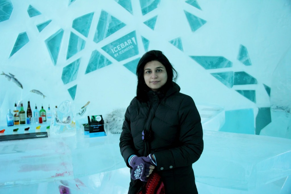 Ice Hotel: Literally 'chilling' at the Ice Bar