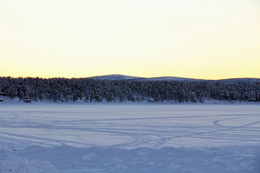 Ice Hotel: Frozen Trone River