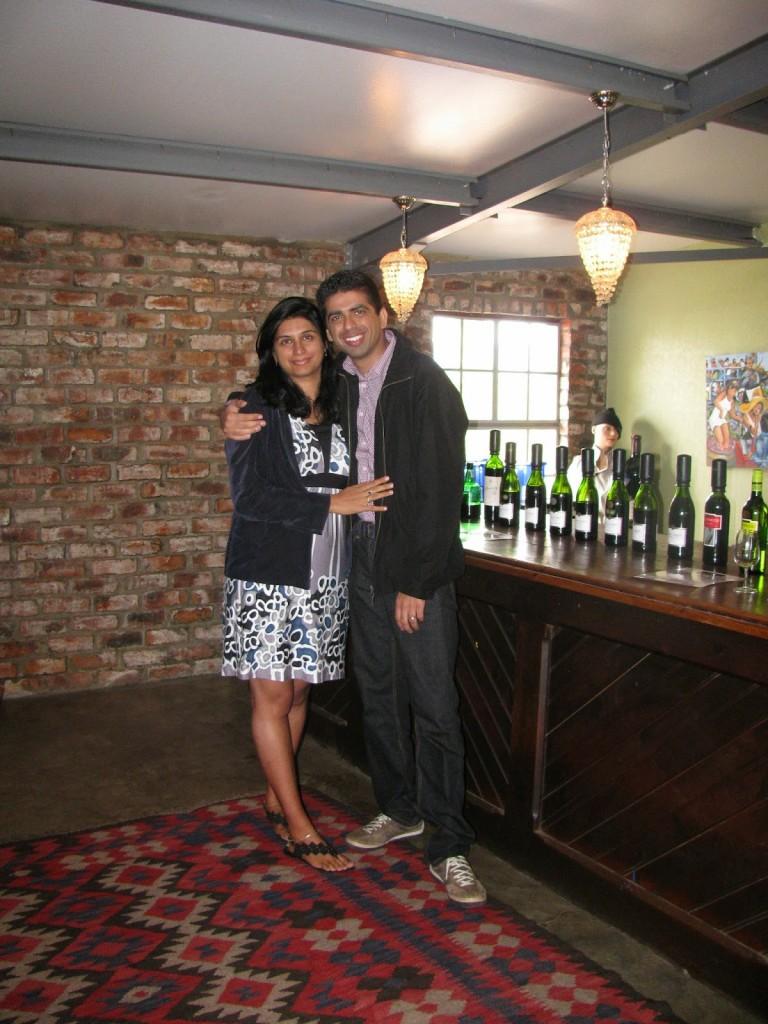 Robertson: Wine tasting