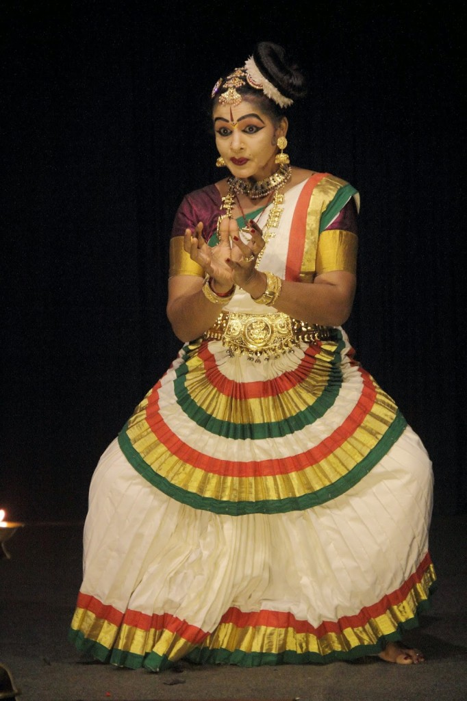 Kerala: Mohiniyattam dancer