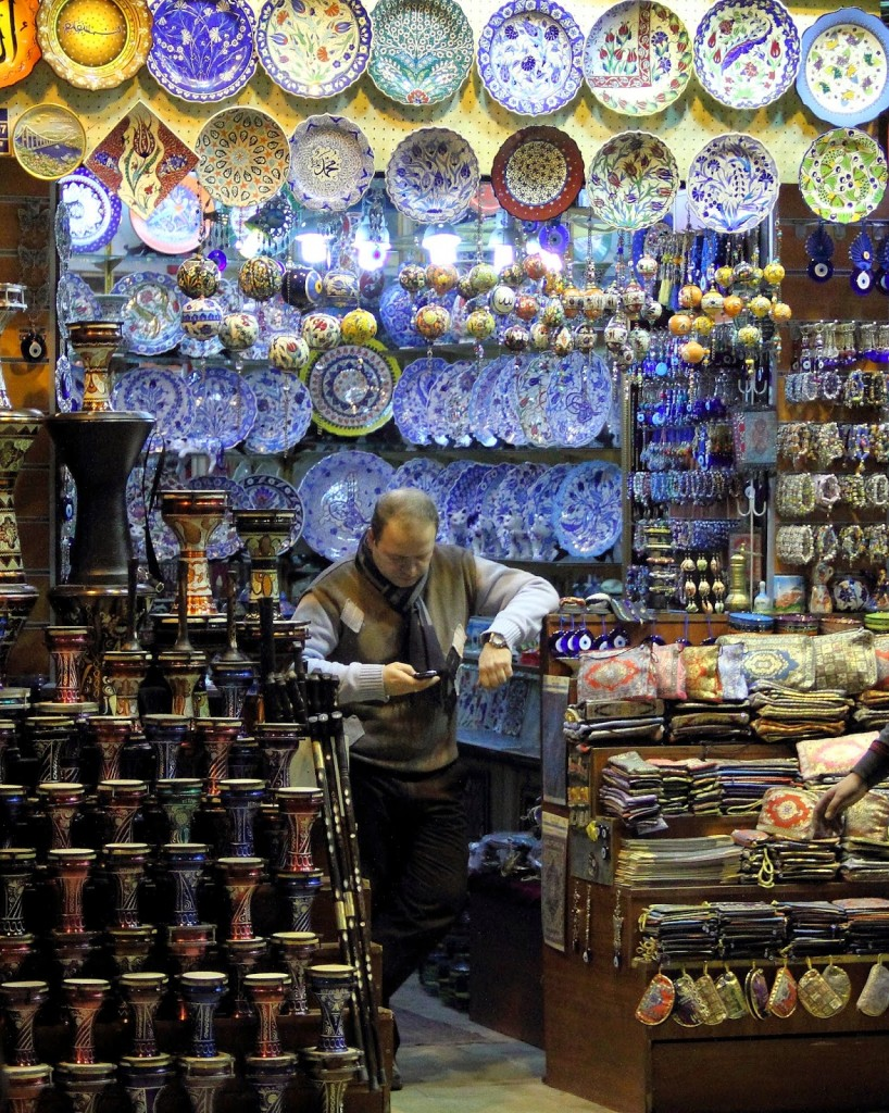 Grand Bazaar: Painted Turkish Porcelain