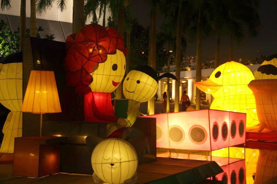Hong Kong: Lanterns at at the Kowloon Clock Tower