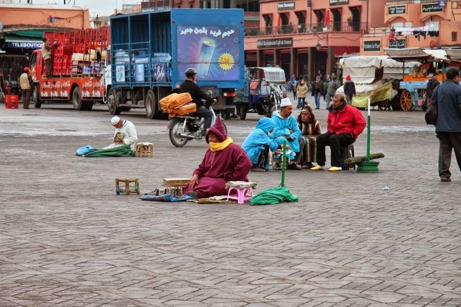 Marrakech: Djemma El Fna ...an everyday sight