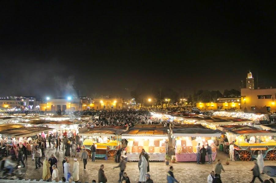 Marrakech: Nightlife in the Medina