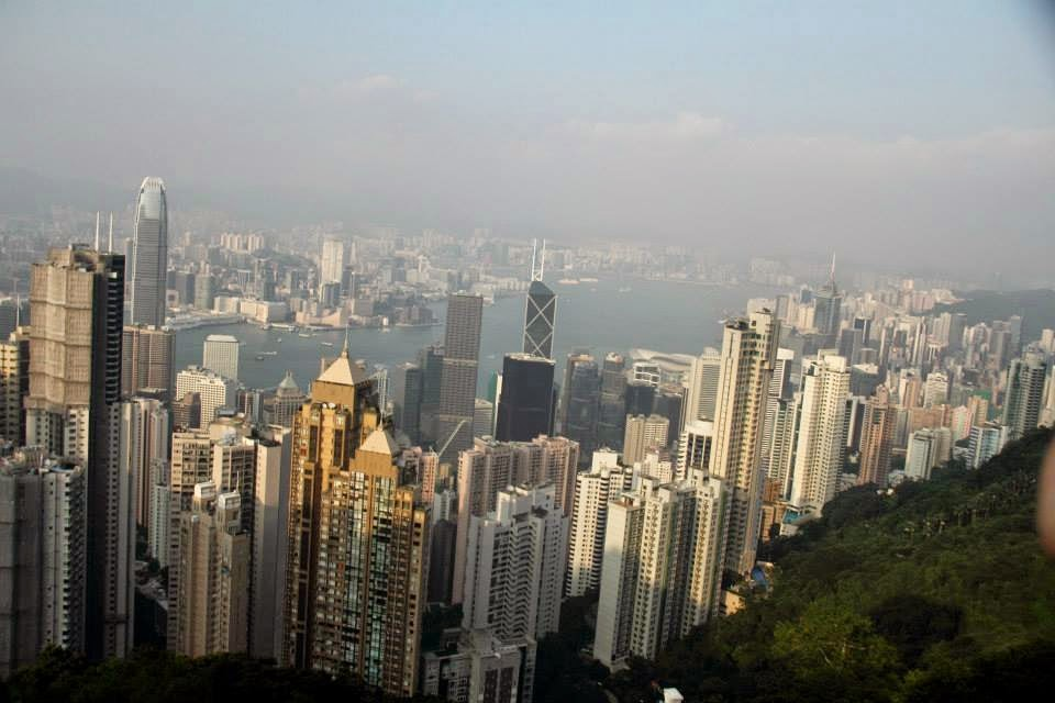 Hong King: View from Victoria's Peak