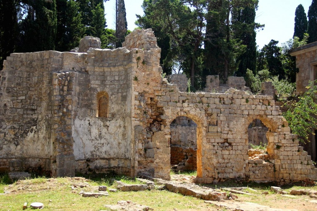 Lokrum Island: Ruins of the Benedictine Monastry