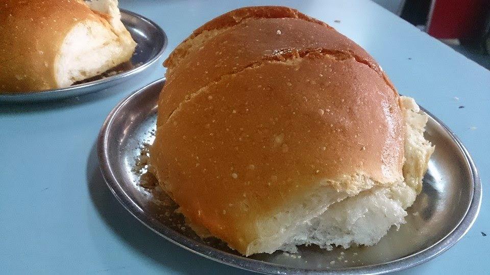 Fresh 'Brun' and butter at Yazdani Irani Bakery in Fort, Mumbai