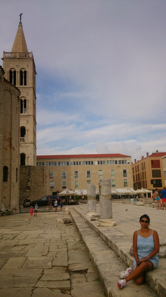 Zadar: Exploring the ruins...