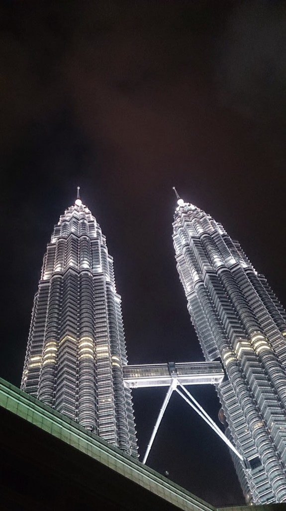 The Petronas Tower : KLCC