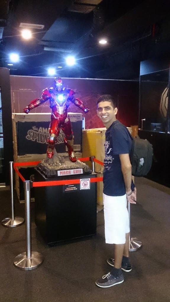 Iron Man makes everyone smile!
