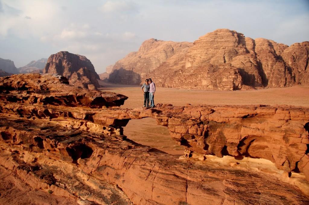The Jordanian soujourn in March 2014