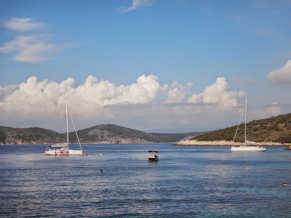 Island hopping in Hvar