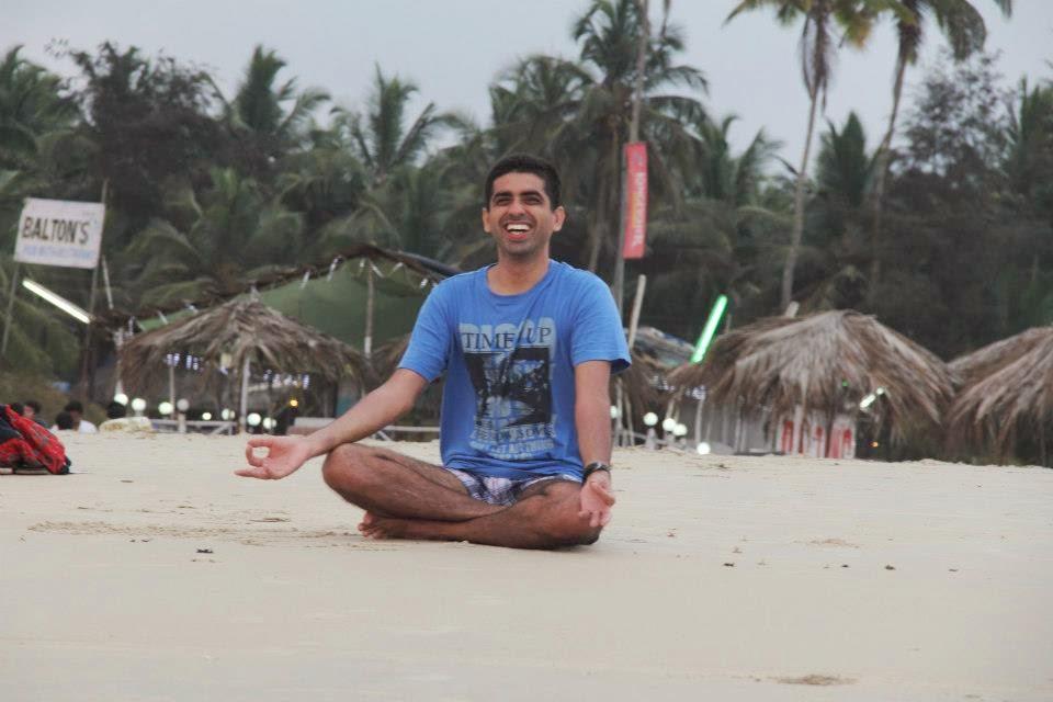 Meditating?