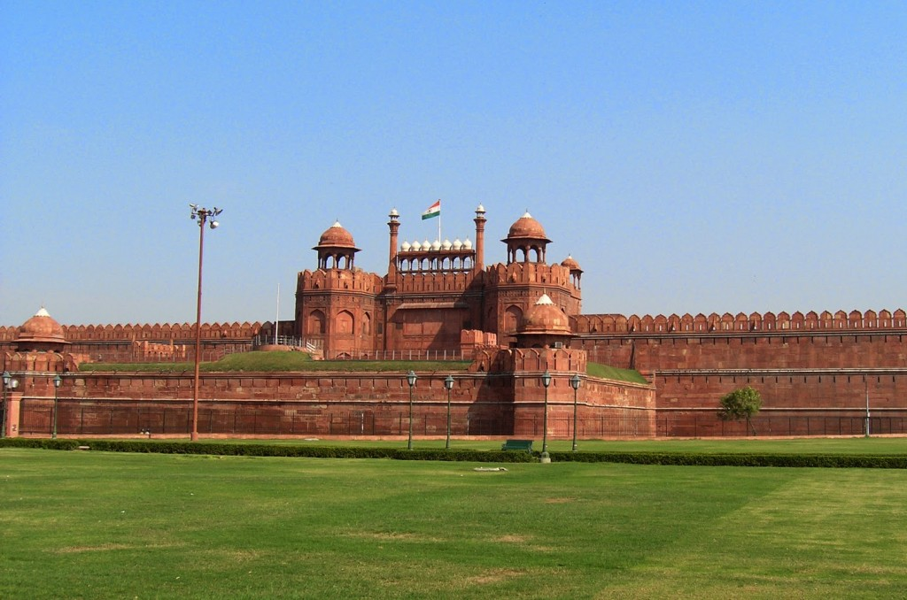 """Red Fort, Delhi by alexfurr"" by Alex Furr"