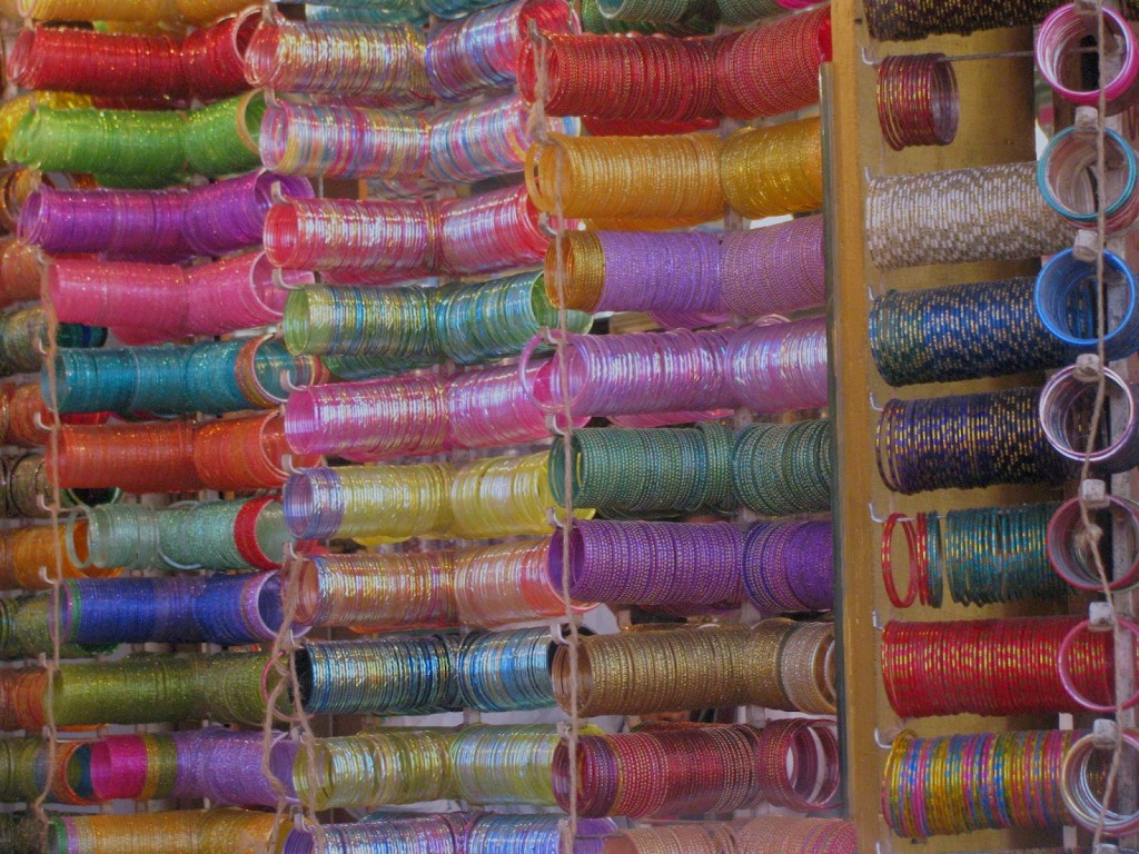 Glass Bangles at Laad Bazaar