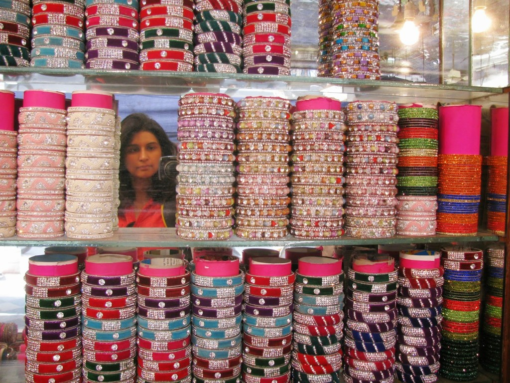 Bangle shopping in Hyderabad