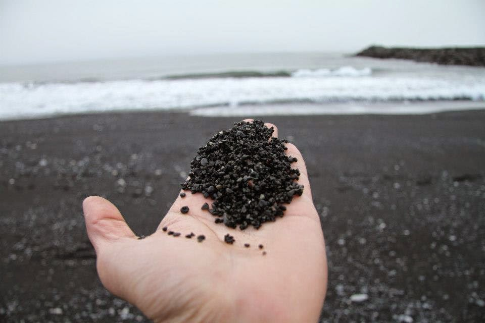 Black sand beach of Vik (pic courtesy: K Preetam)
