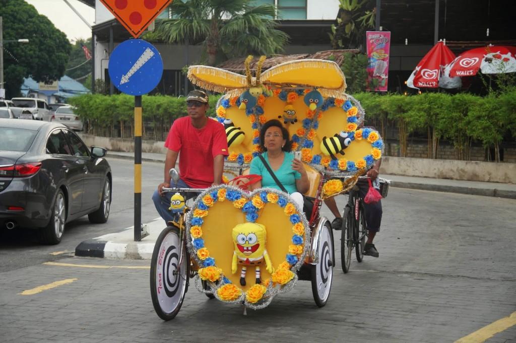 Spongebob on the streets of Melaka!