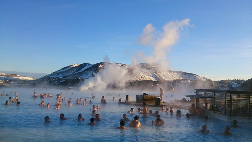 Warm waters of the Blue Lagoon