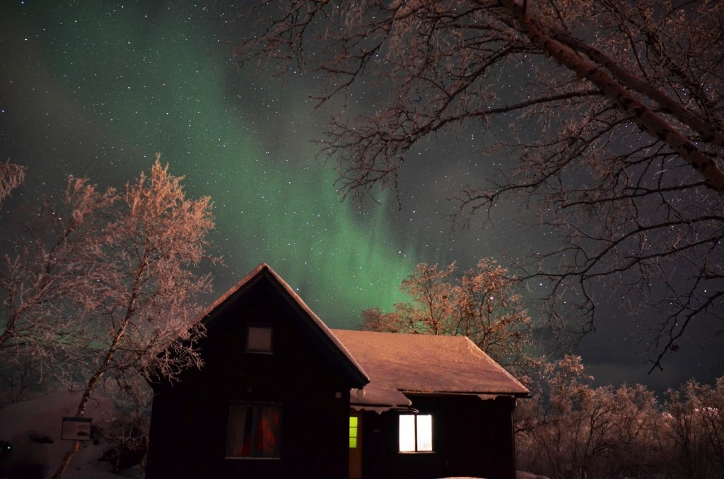 Northern Lights at Abisko National Park, Sweden from our trip in Feb 2013