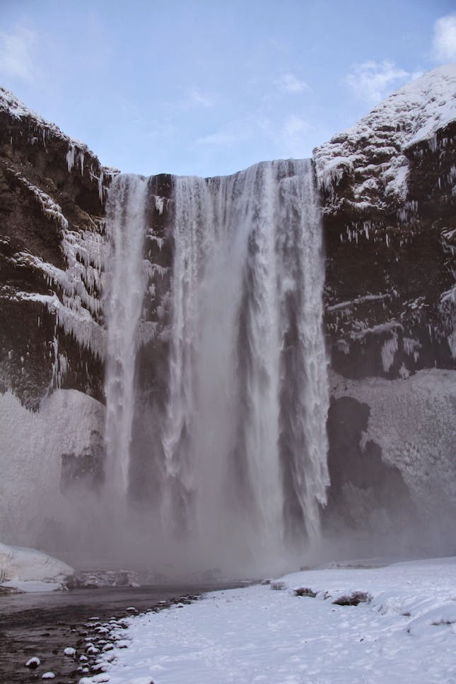Skogafoss on the South Shore of Iceland