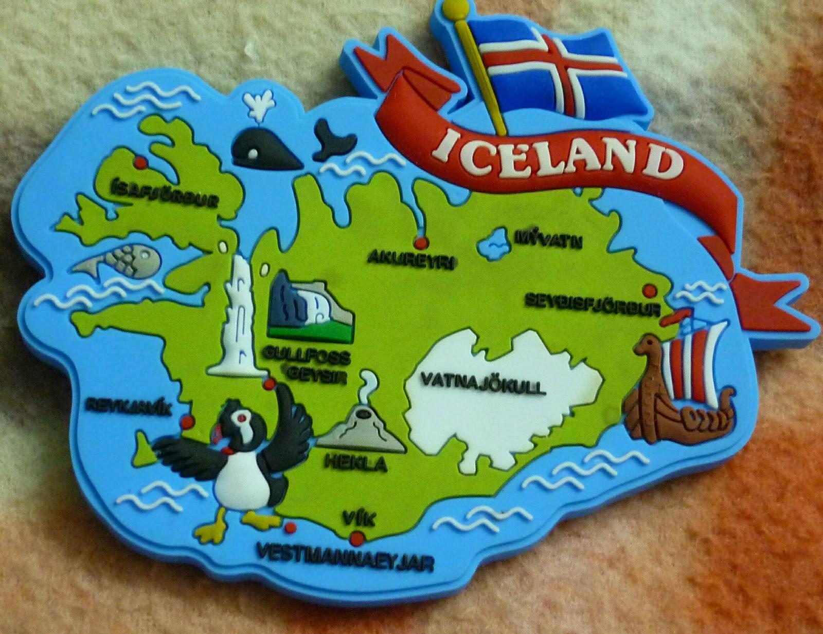 Our fridge magnet has Vatnajokull too!