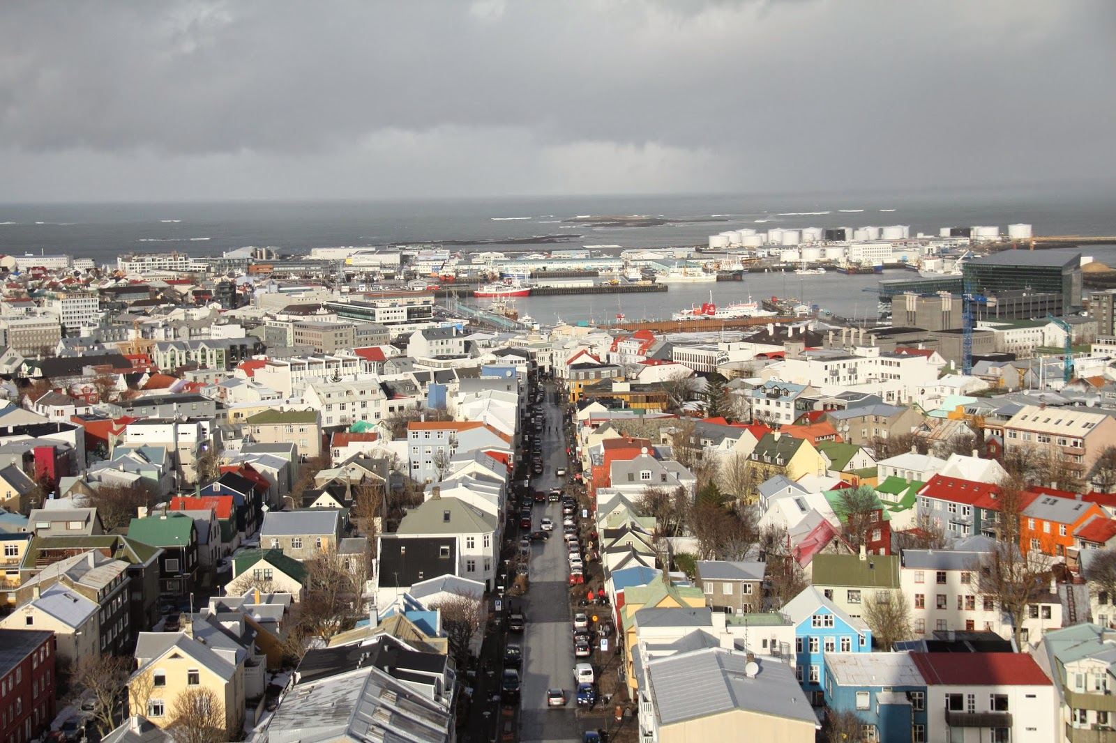 View from the top of Hallgrimskirkja