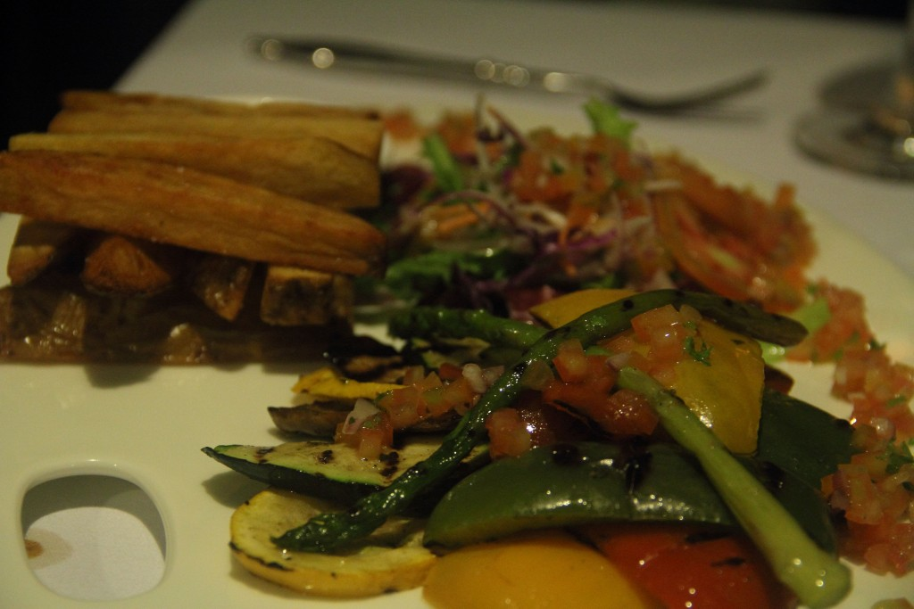 Perfectly grilled vegetables for Ankur