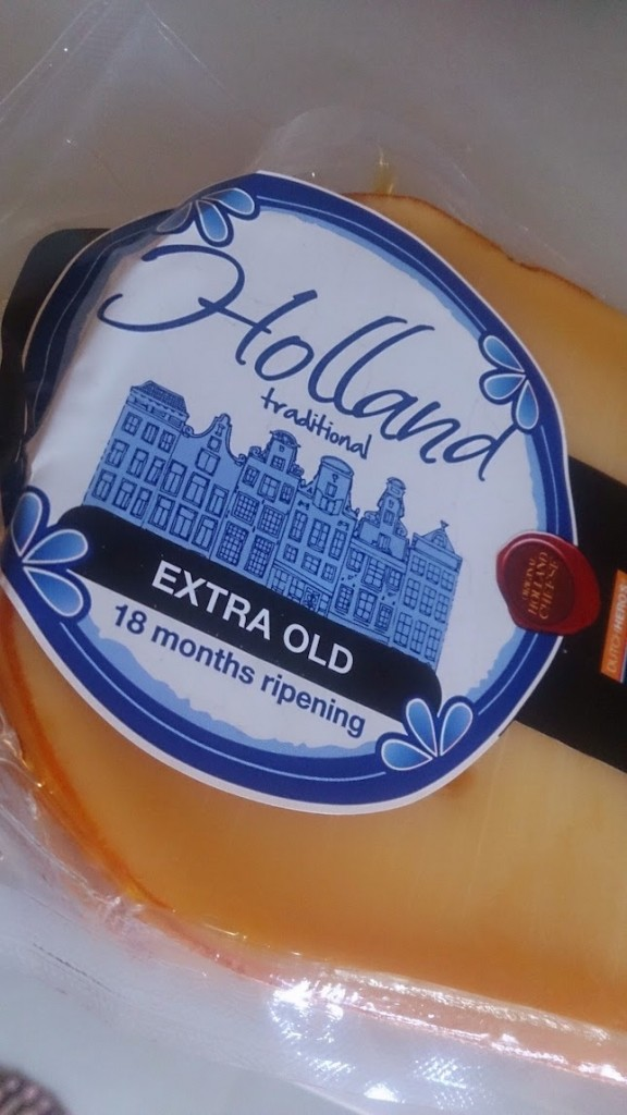 Aged gouda cheese