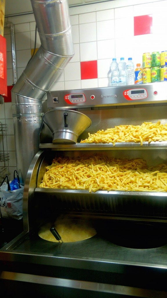 Ahhh... sinfully delicious French fries!