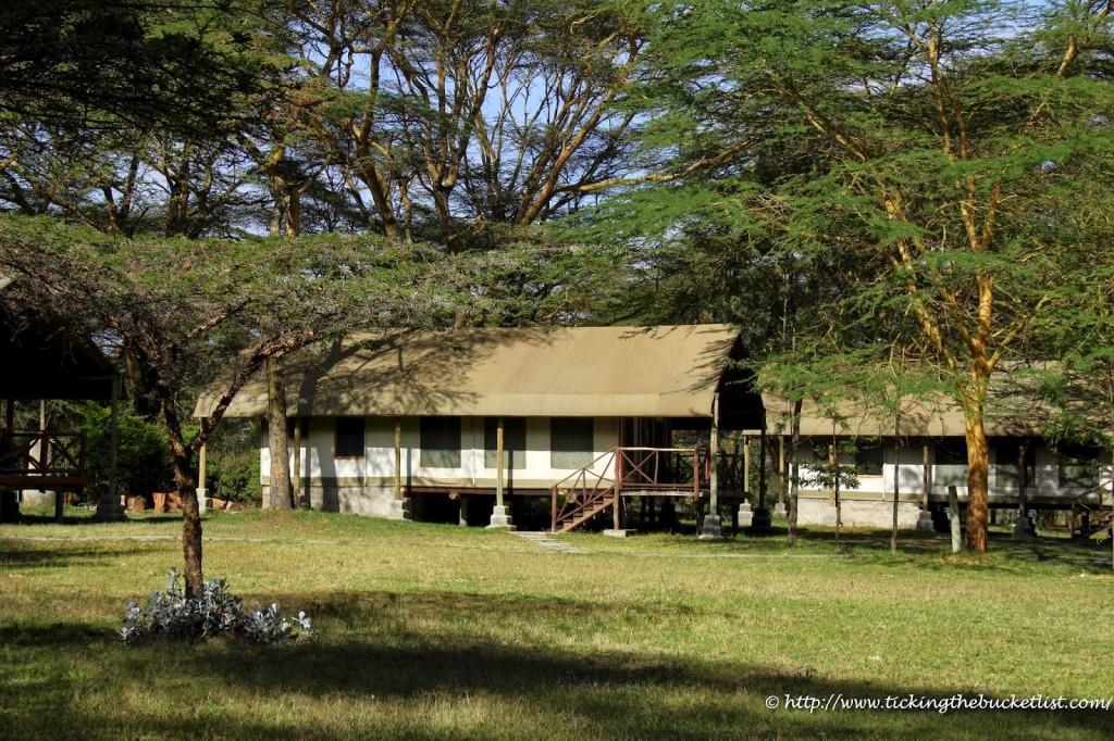 Lake side resort at Lake Naivasha