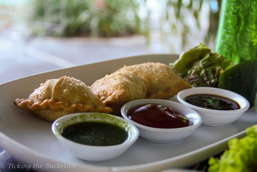 Samosas are welcome...anytime..anywhere!