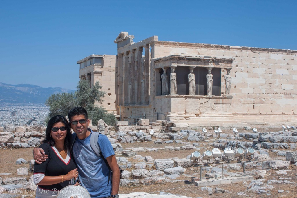 At the Acropolis in Athens