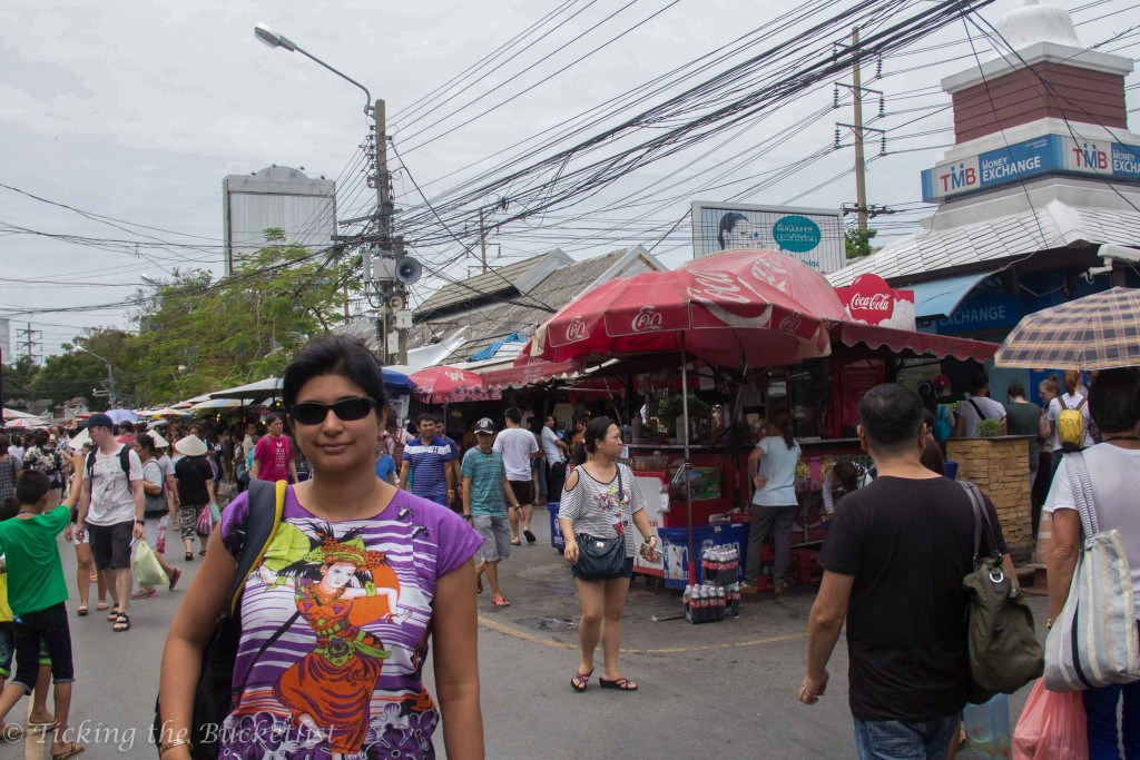 At Chatuchak Market...the main street