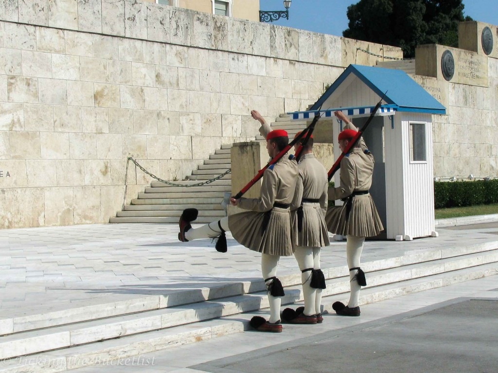 Change of Guard at Syntagma