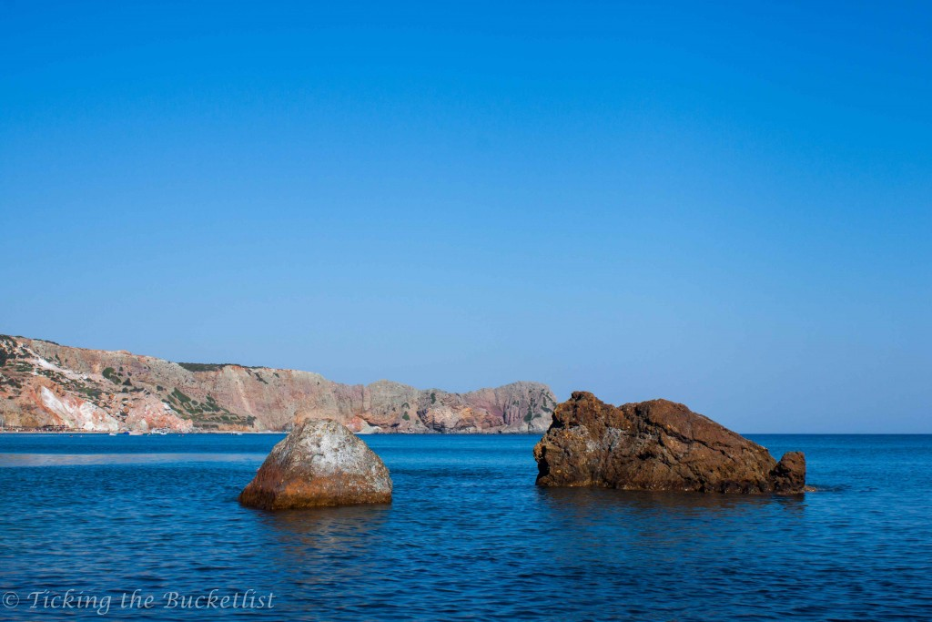 Red Beach at Milos