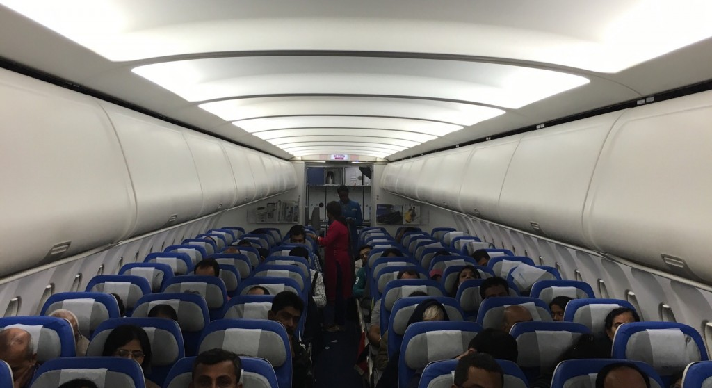 Economy section ...3X3 seating