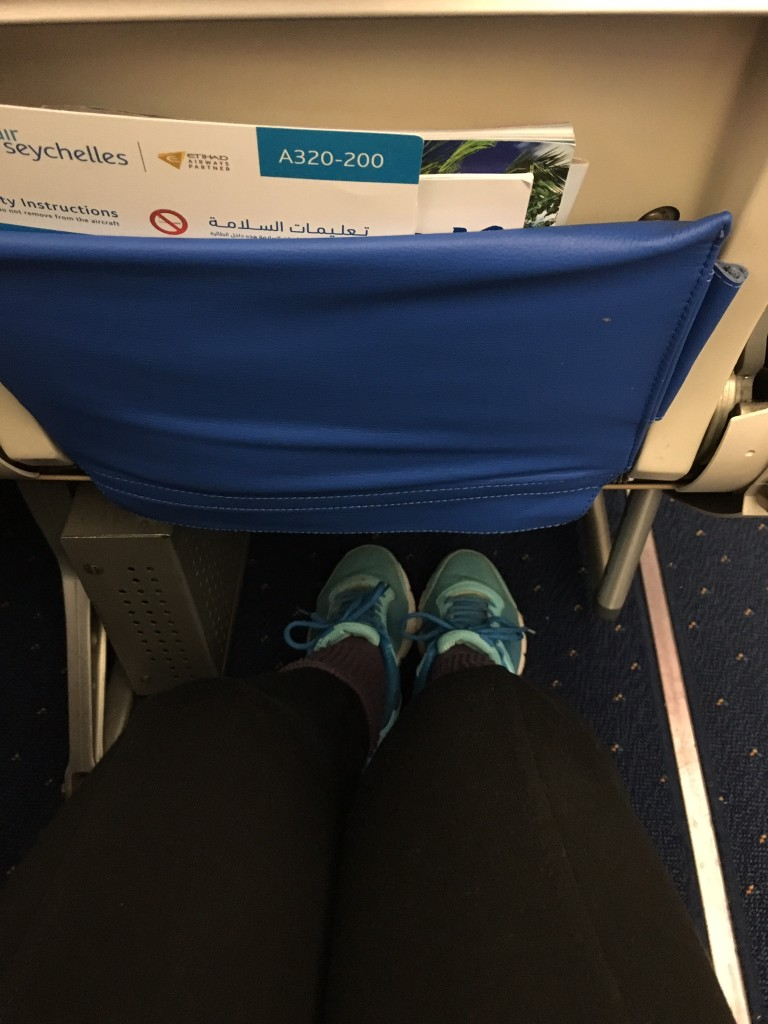 Leg room ...seat on the emergency exit
