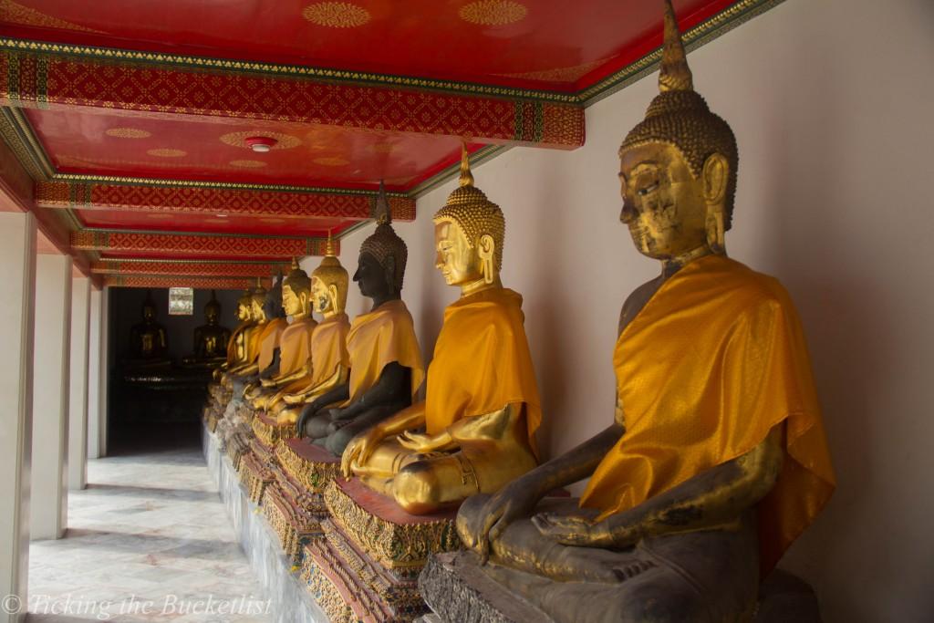 Temple of the Emerald Buddha at Bangkok, Thailand